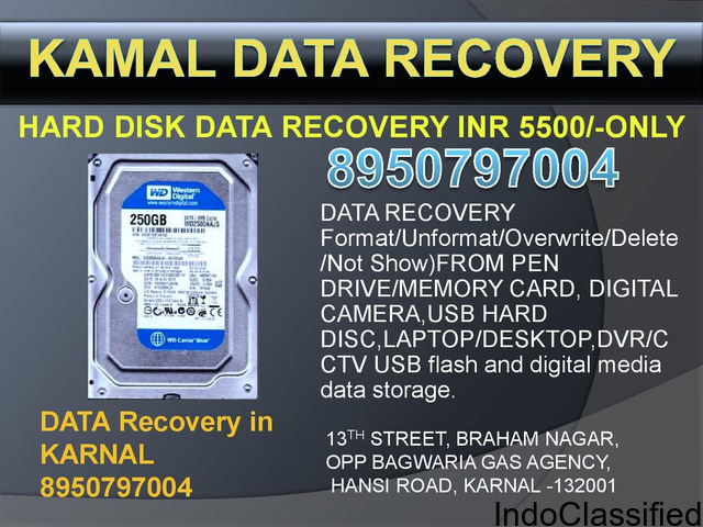 DATA RECOVERY IN KARNAL
