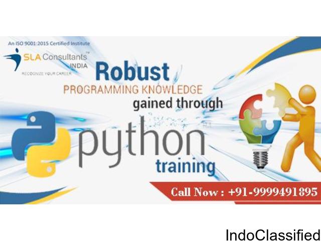 Python Training Course Delhi, NCR - Gurgaon Noida Institute | Center