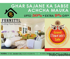 Furnstyl Chaitra Navratra Sales UPTO 50% + 9% off